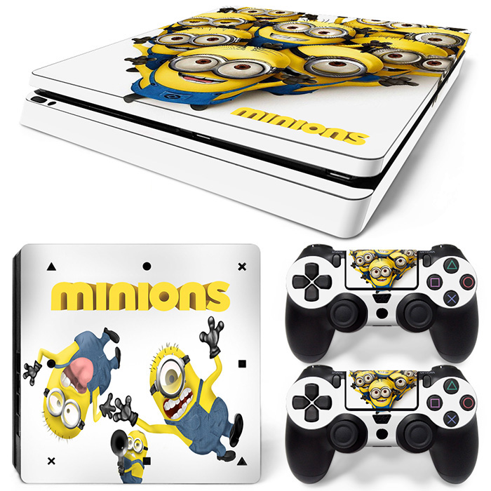 Details Zu Playstation 4 Ps4 Slim Skin Vinyl Design Folie Aufkleber Schutz Sticker Minions
